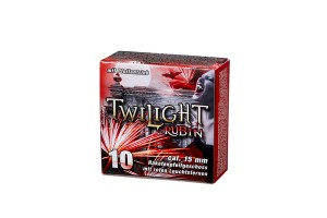 Feuerwerk Umarex Twilight Zone Rubin, 10teilig cal. 15mm Pyrotechnik