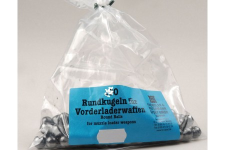 389.222../.242 Blei-Rundkugeln H&N .709 - .787 (50Stk)